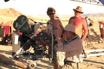 """Tomás Pladevall durante el rodaje de """"Viaje mágico a África"""", la primera película europea rodada en IMAX 3D"""