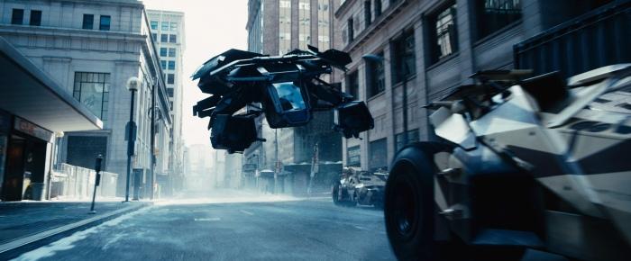 """Uno de los múltiples planos de la sobrevaloradísima """"El caballero oscuro: la leyenda renace"""" (Christopher Nolan, 2012) rodado en VistaVision."""