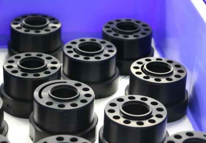 Piezas del ensamblaje mecánico interno de las ópticas