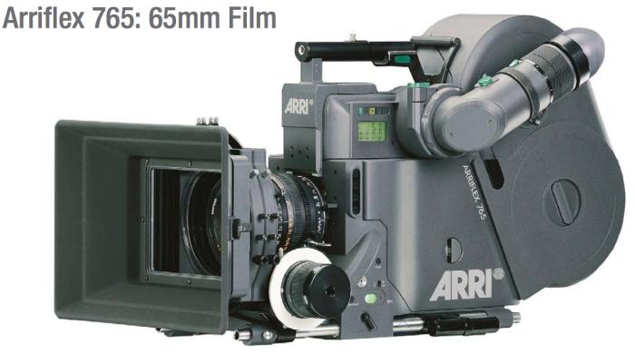 La propia ARRI desarrolló la ARRIFLEX 765 después de años de desarrollo procurando evitar todos los problemas que aquejaban a los modelos anteriores de película de 65mm. El problema fue que, para cuando estuvo disponible, Kodak introdujo mejoras en sus emulsiones de 35mm que hacían muy poco rentable la alternativa.