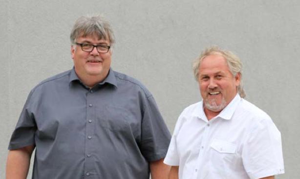 Manfred Jahn y Klaus Eckerl