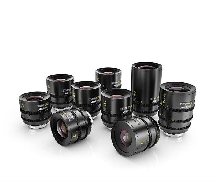 La nueva gama de objetivos rediseñados íntegramente por IB/E Optics a partir de elementos ópticos de Hasselblad HC (Fujinon) para su uso con las Alexa 65