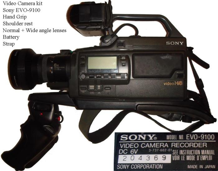 La Sony EVO-9100 con ese peasso kit