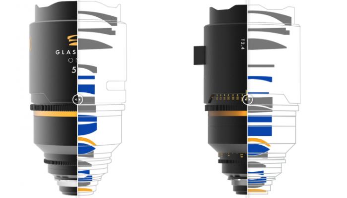Diseño óptico de la Glaswerk One+ 50 mm T2,4