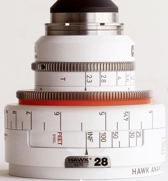 Óptica anamórfica Vantage Hawk V-Lite 28mm Vintage'74 1.3x T2,3.